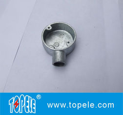 TOPELE BS4568 / BS31 Malleable Iron / Aluminum One Way Terminal Electrical Conduit Circular Junction Box/ HANDY UTILITY